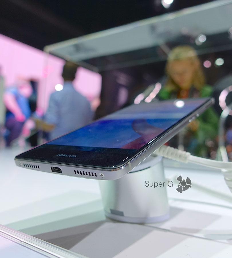 Black черный Huawei Mate S