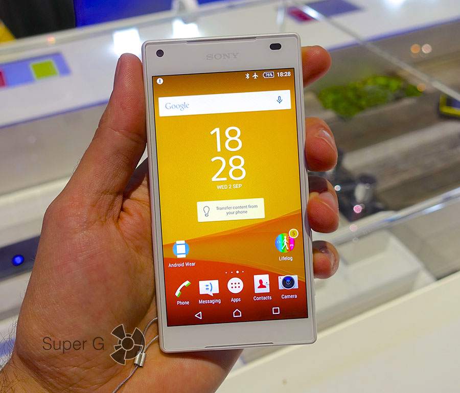 Дисплей Sony Xperia Z5 Compact