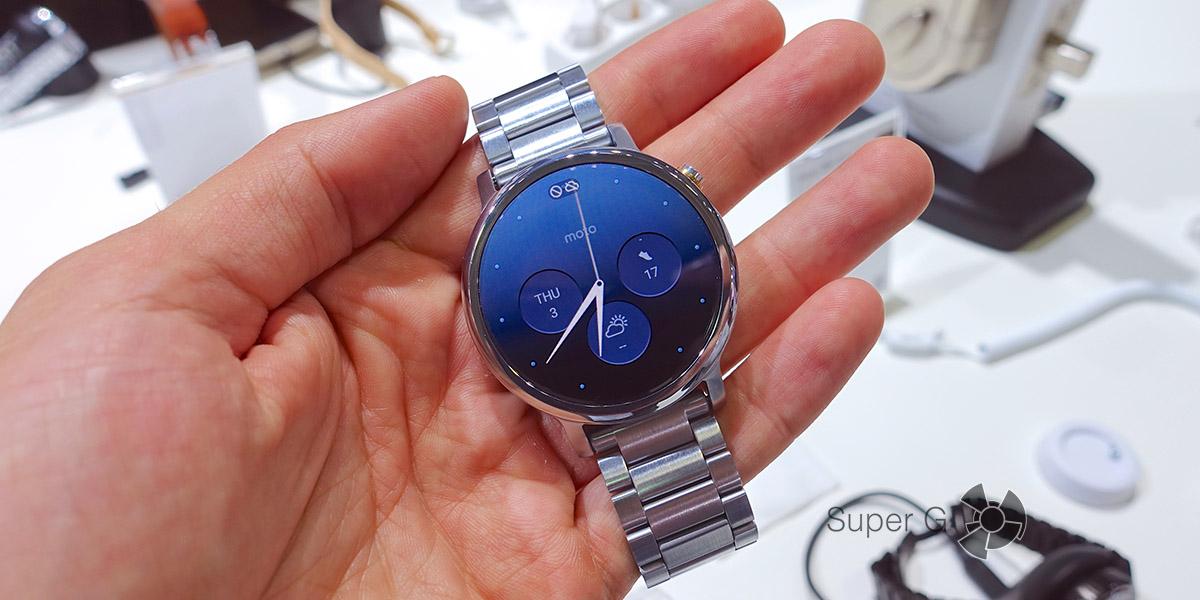 Новые умные часы от Motorola - Moto 360 2