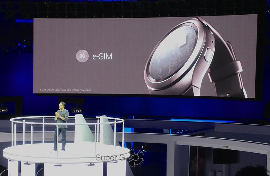 Что такое e-SIM для Samsung Gear S2