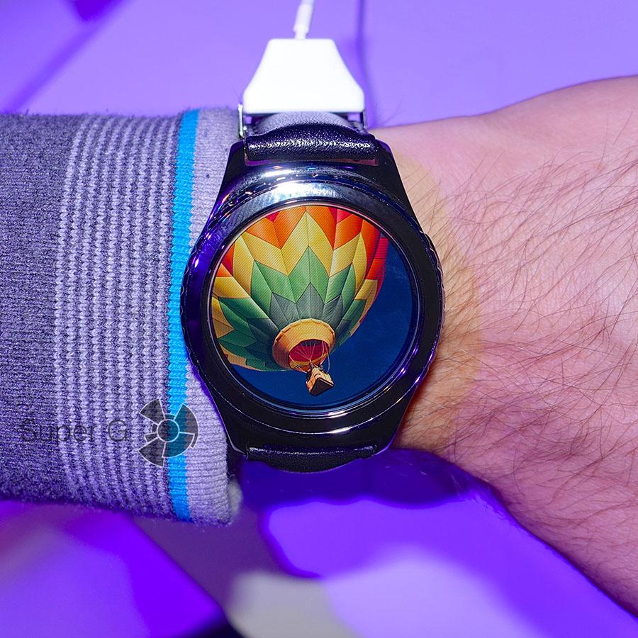 Просмотр картинок на Samsung Gear S2