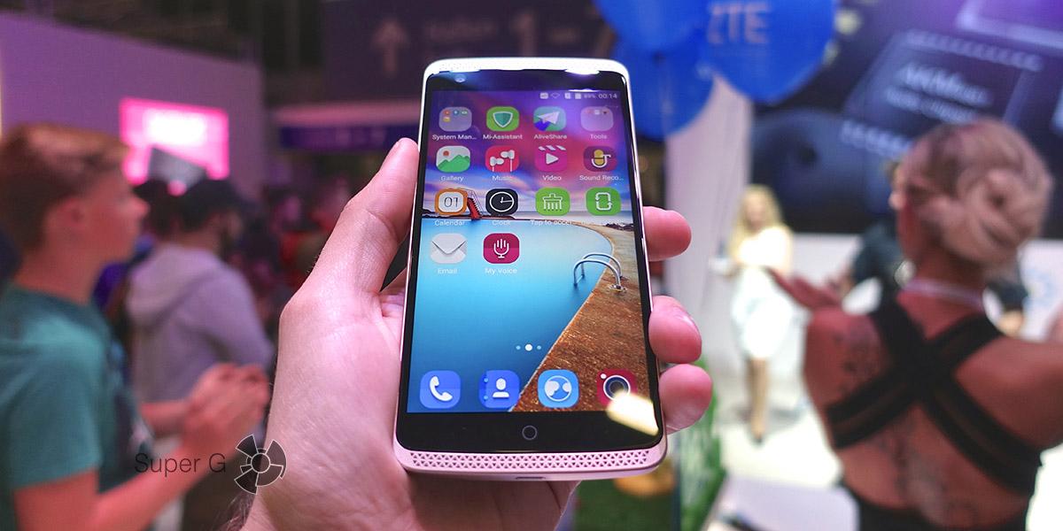 Смартфон AXON Elite - флагман компании ZTE на процессоре Snapdragon 810