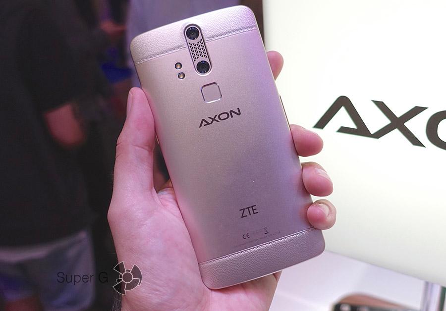 Корпус ZTE AXON Elite из металла с покрытием под золото