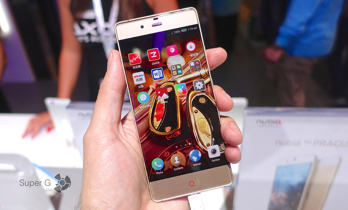 ZTE Nubia Z9 - по-настоящему безрамочный смартфон