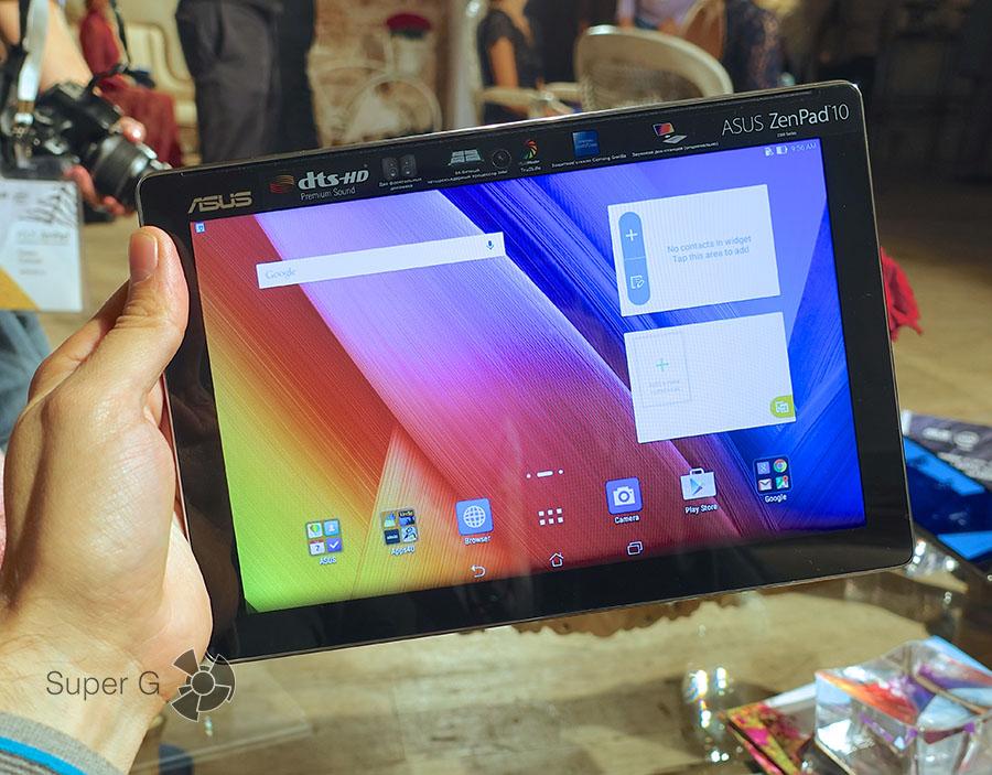 Планшет ZenPad 10