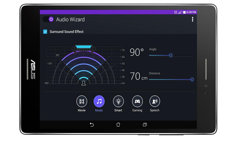 DTS-HD Premium Sound в планшетах Asus