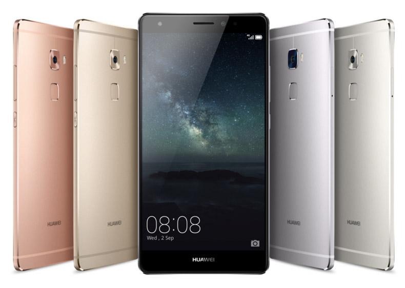 Huawei Mate S цвета корпуса