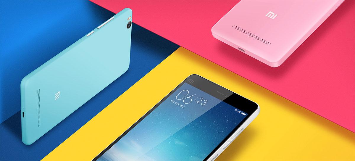Xiaomi Mi 4C яркие цвета корпуса
