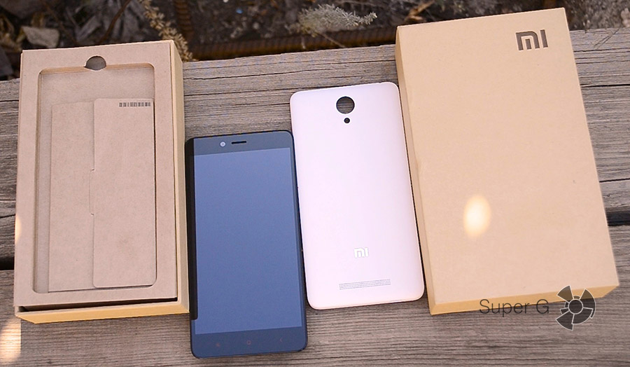 Xiaomi Redmi Note 2 комплектация