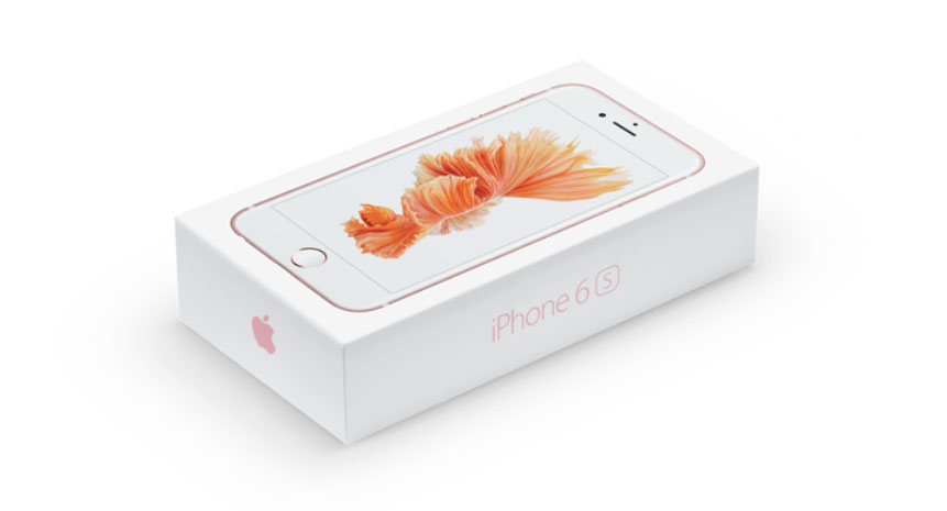 iPhone Upgrade Program и комплектация iPhone 6S копия