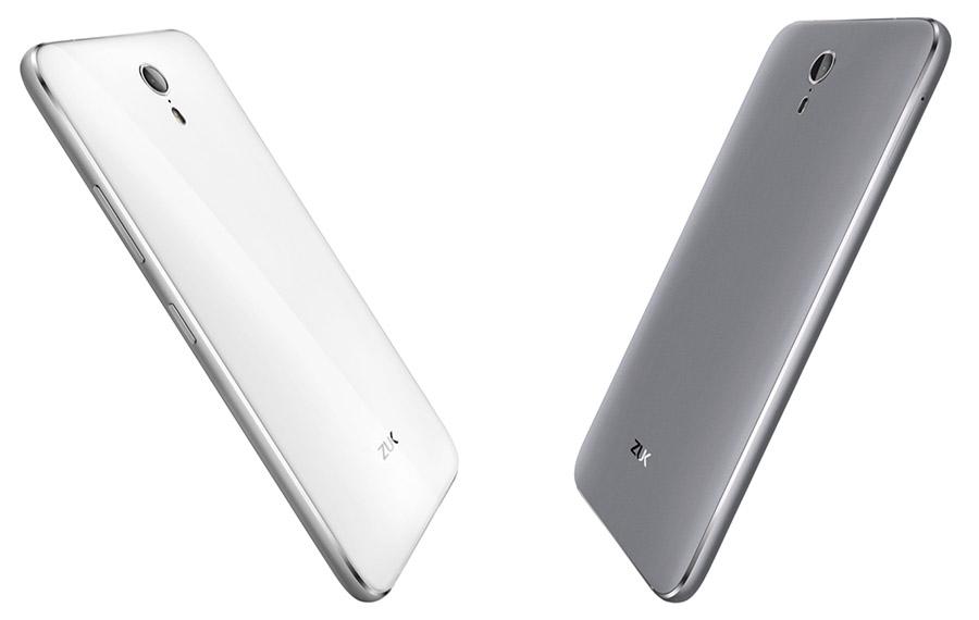 Белый и темно-серый или черный ZUK Z1