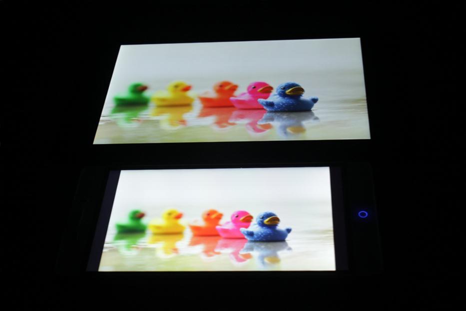Тест дисплея vs Nexus 1
