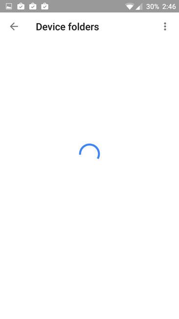 Загрузка приложения Фото на OnePlusTwo