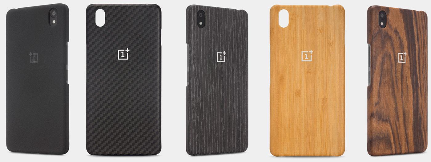 Заднии крышки, чехлы из дерева, карбона для OnePlus X
