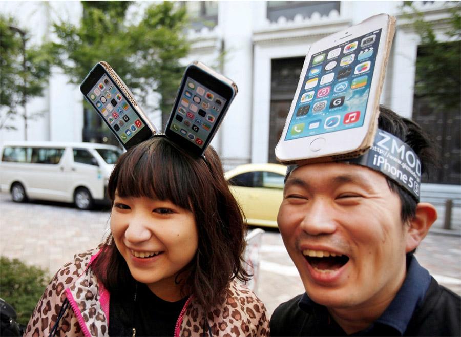Китайцы и iPhone