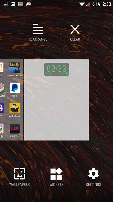 Настройка рабочего стола OnePlus 2