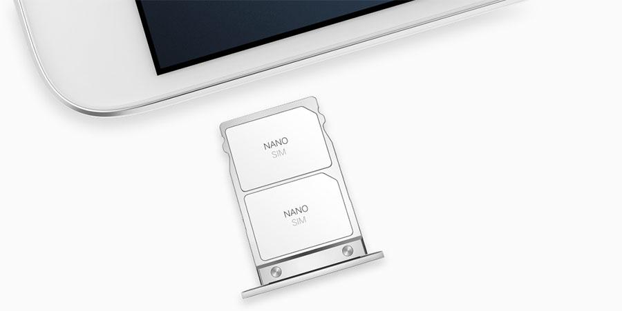 Поддержка сетей LTE и карточек Nano SIM ZUK Z1
