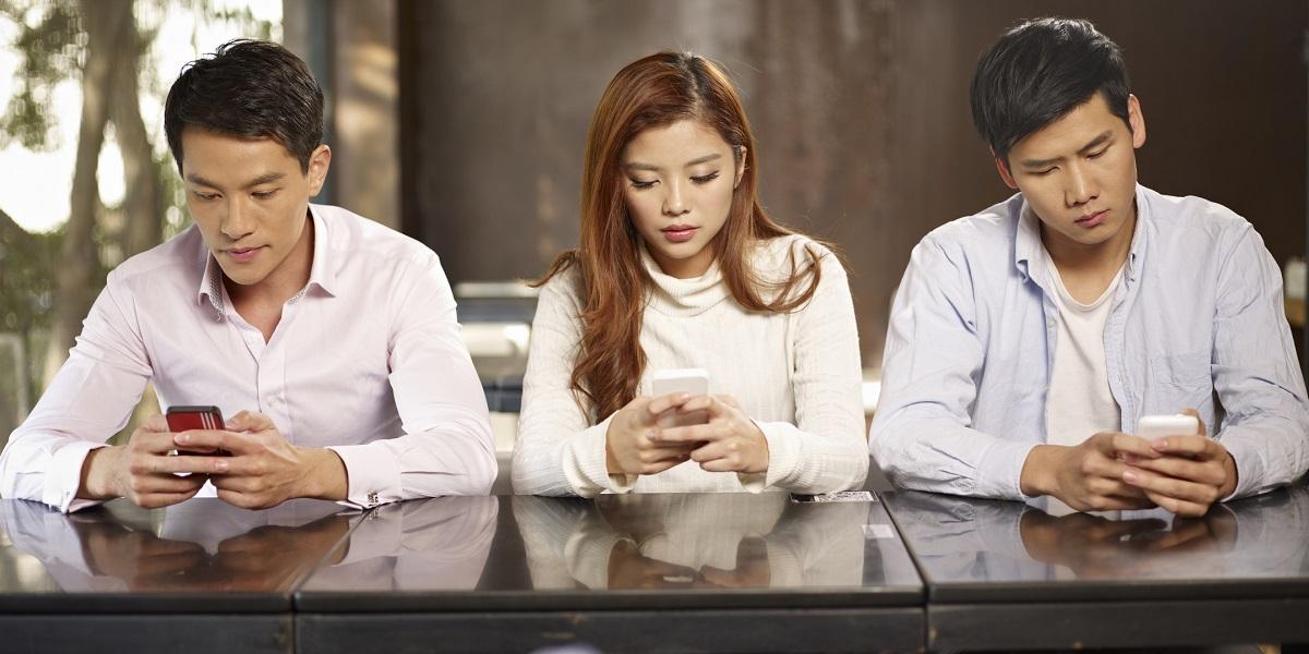 Жители Поднебесной и их смартфоны