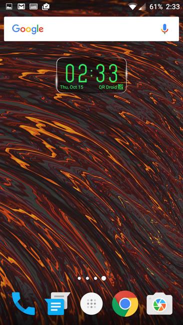Рабочий стол Oxygen на OnePlus 2