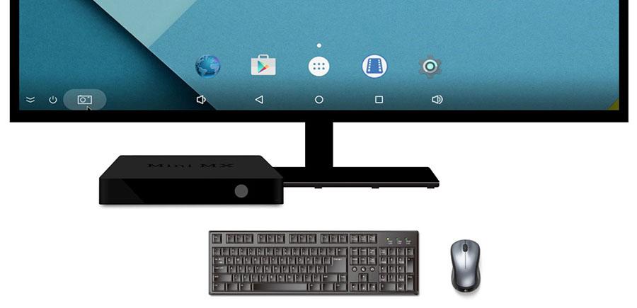 ТВ приставка подключается к телевизору и клавиатуре