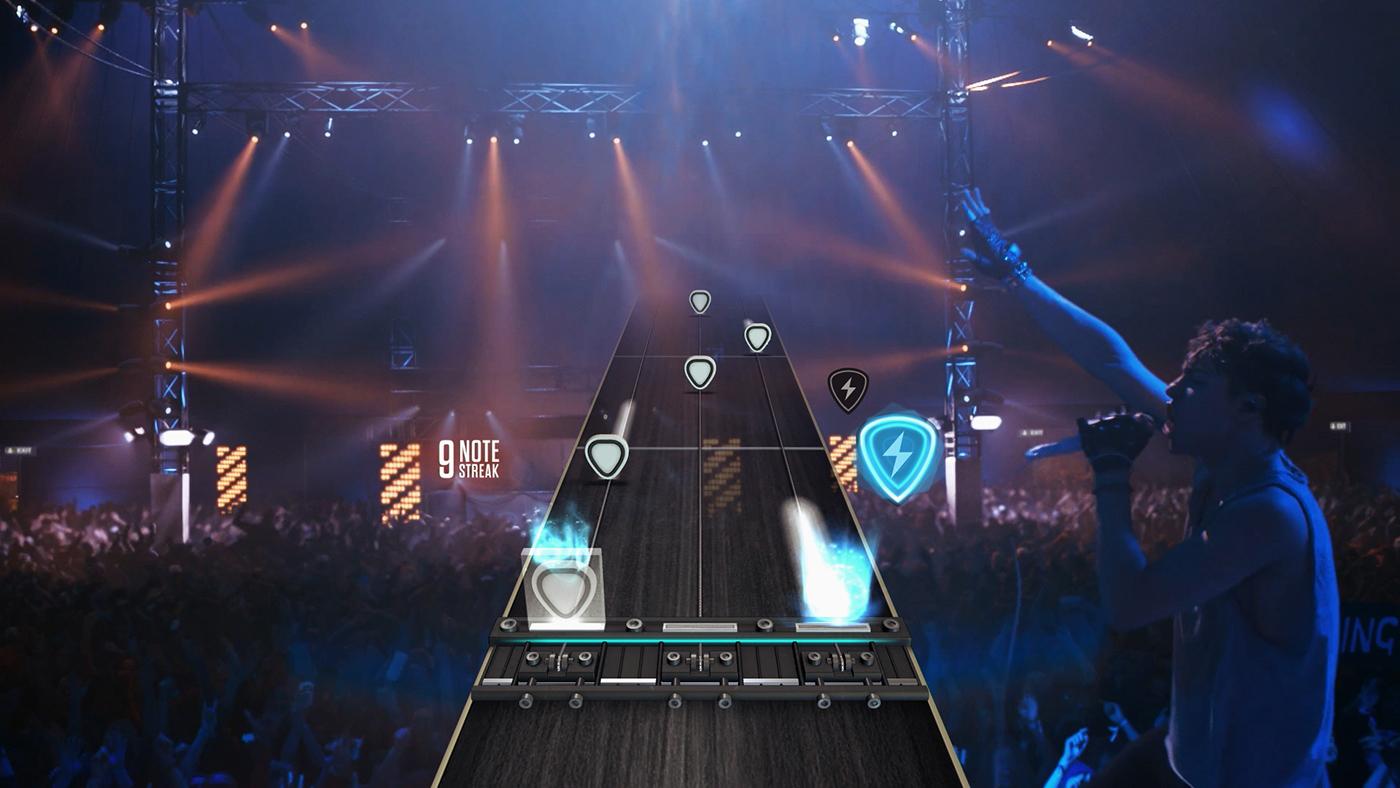 Геймплей Guitar Hero Live