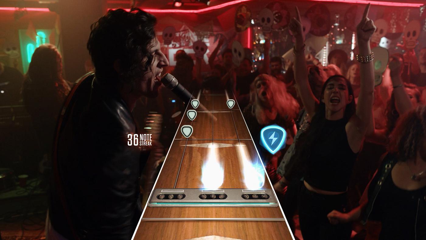 Guitar Hero Live режим Live