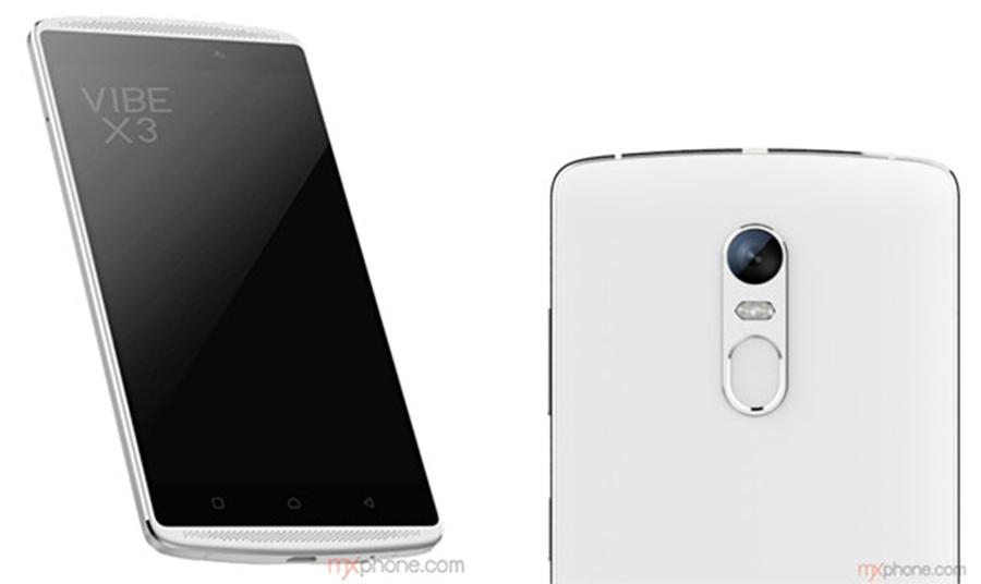 Lenovo Vibe X3 render