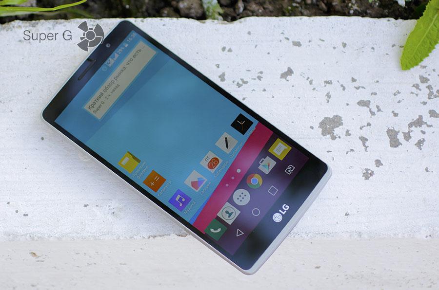 Дисплей или экран в смартфоне LG G4 Stylus
