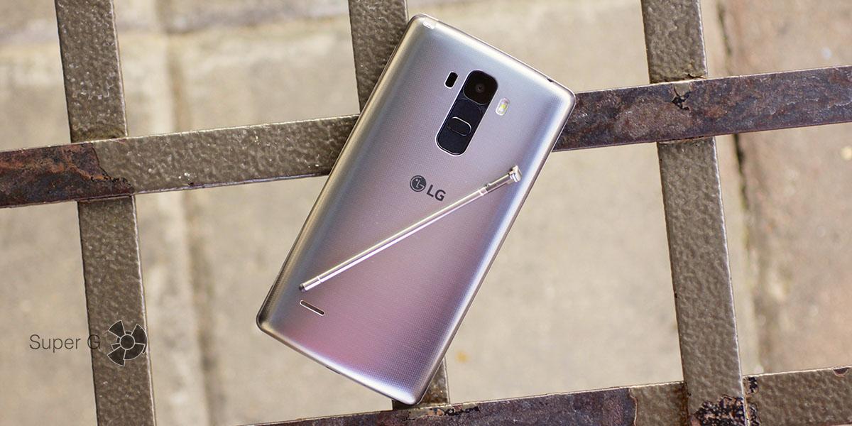 Смартфон LG G4 Stylus: отзывы, описание