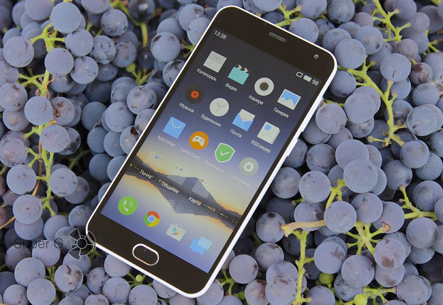 Дисплей Meizu M2 mini и экран iPhone 6S
