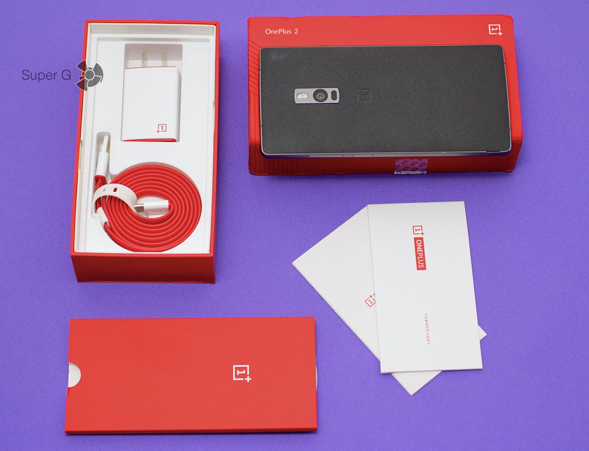 Комплектация OnePlus Two