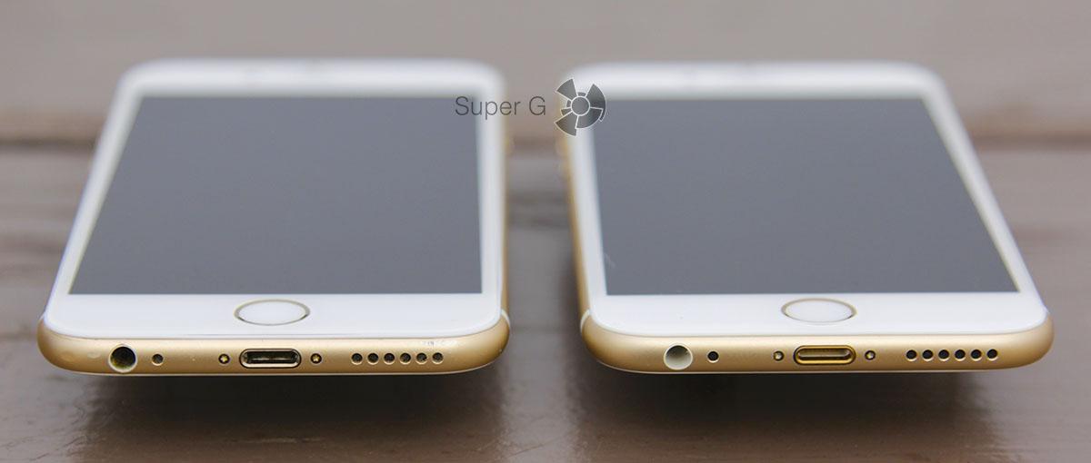 Смартфоны iPhone 6S и iPhone 6