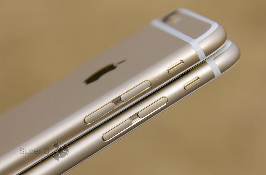 Клавиши и кнопки iPhone 6S