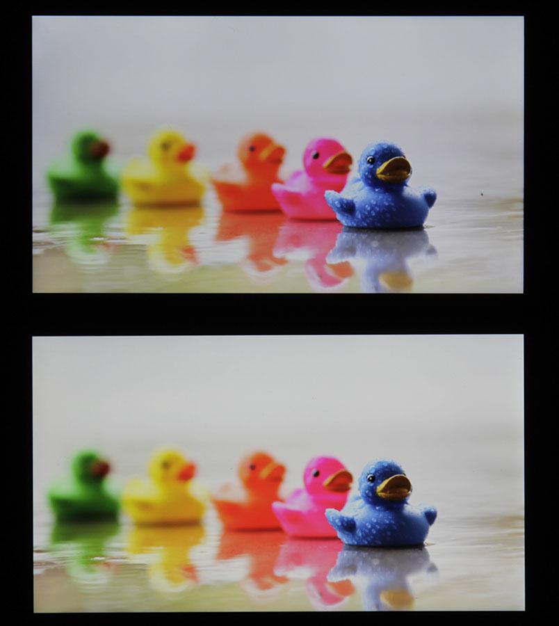 Сочность красок на экране iPhone 6S