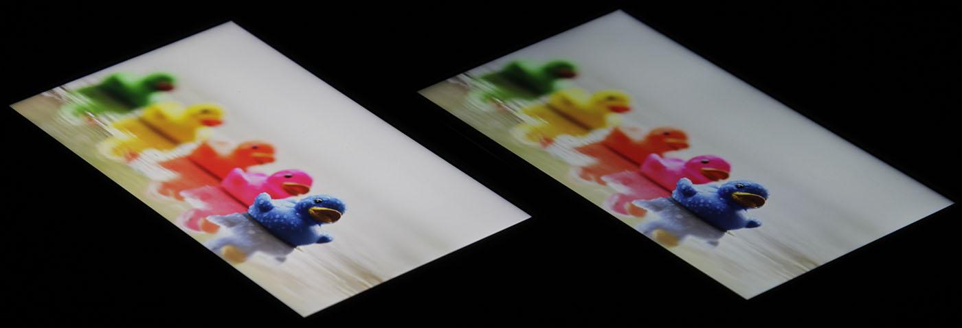 Экраны смартфонов от Apple (краски)