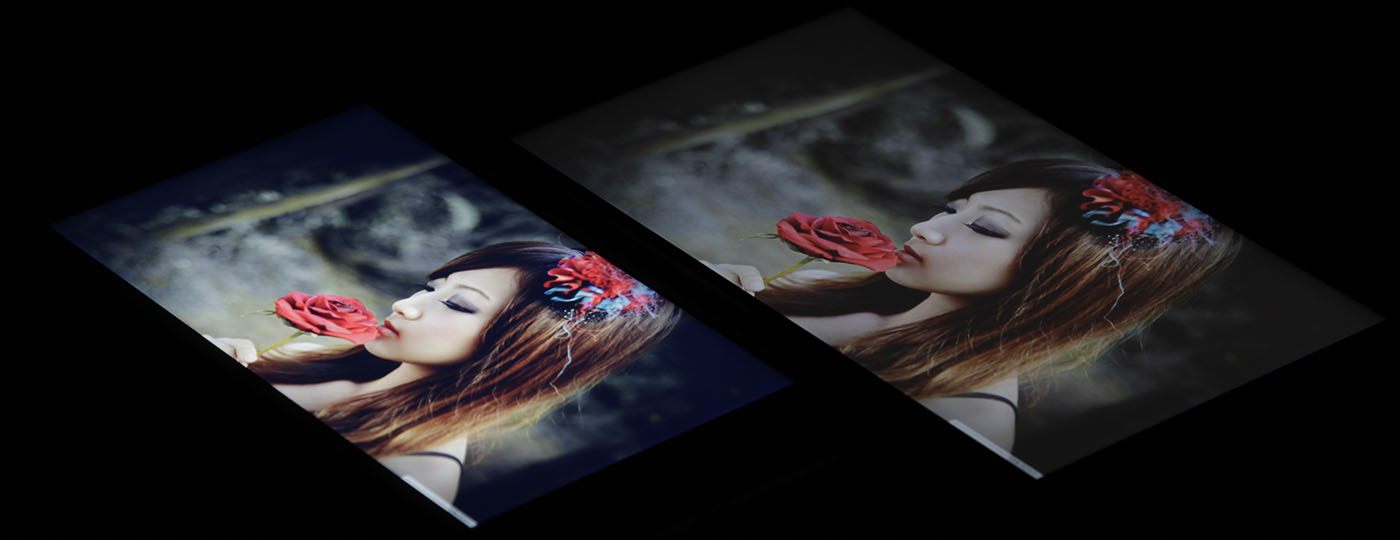 Сравнение экранов OnePlus Two и iPhone 6S