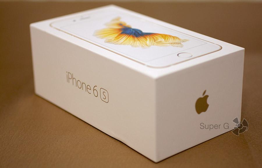 Упаковка и комплектация смартфона iPhone 6S