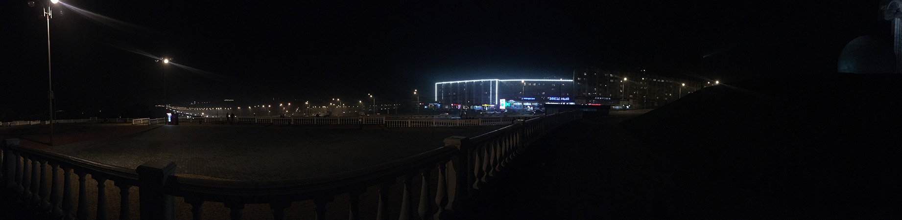 Ночная панорама с iPhone 6S