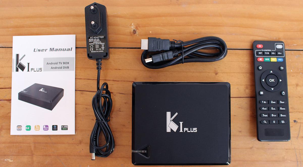 Комплектация ACEMAX Ki Plus Amlogic S905
