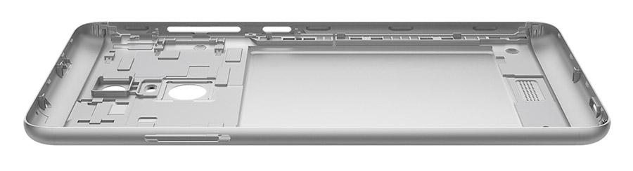 Корпус Xiaomi redmi note 3 сделан из металла