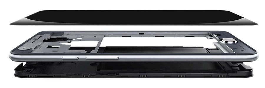 Металлический корпус и защитное стекло Ulefone Be Touch 3