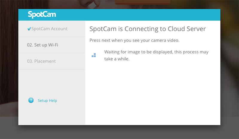 Настройка камеры SpotCam HD