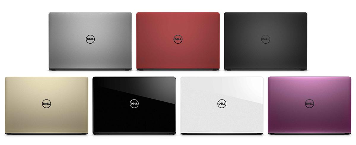 Ноутбуки Dell Inspiron 15 дюймов (5559) разных цветов