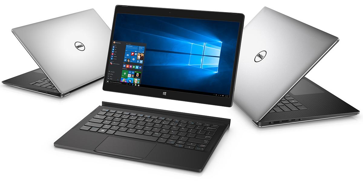 Ноутбуки Dell XPS 12, 13 и 15 дюймовы