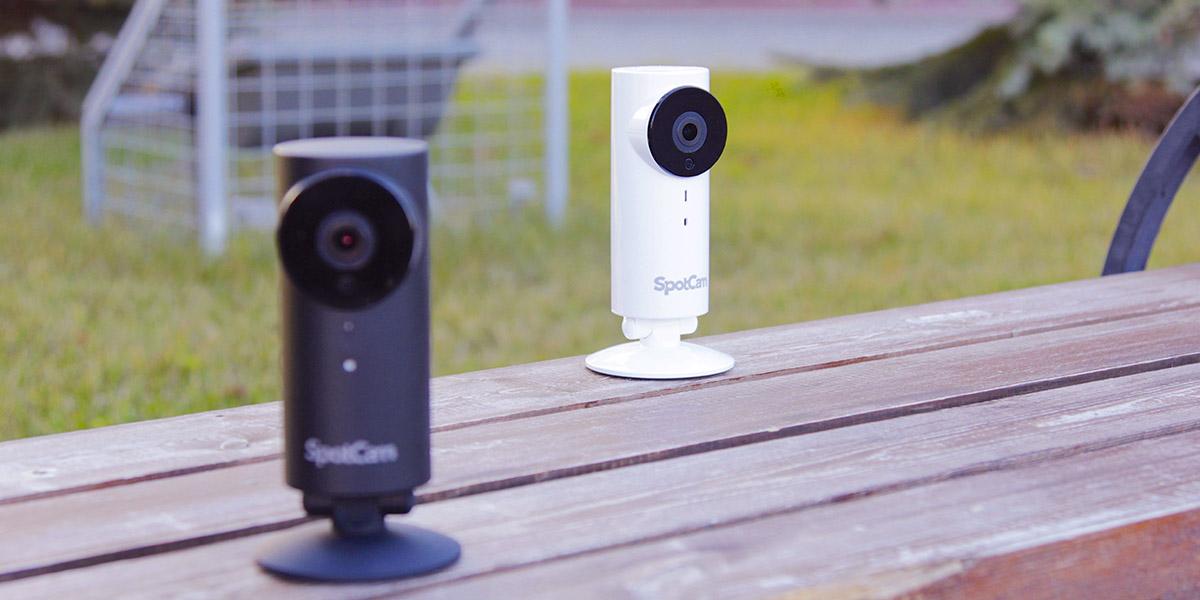 Обзор камер видеонаблюдения SpotCam HD и HD Pro