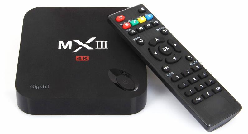 Пульт управления ИК из комплекта приставки MXIII G