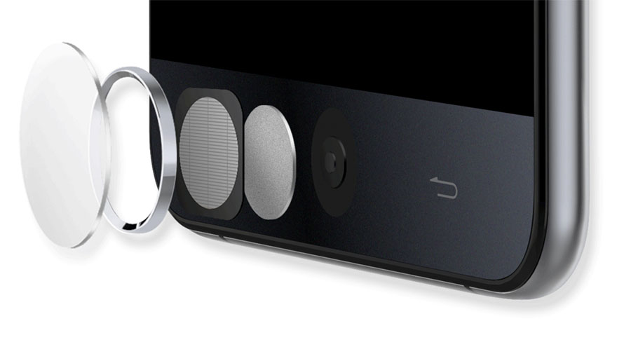 Сканер отпечатков пальцев Ulefone Be Touch 3