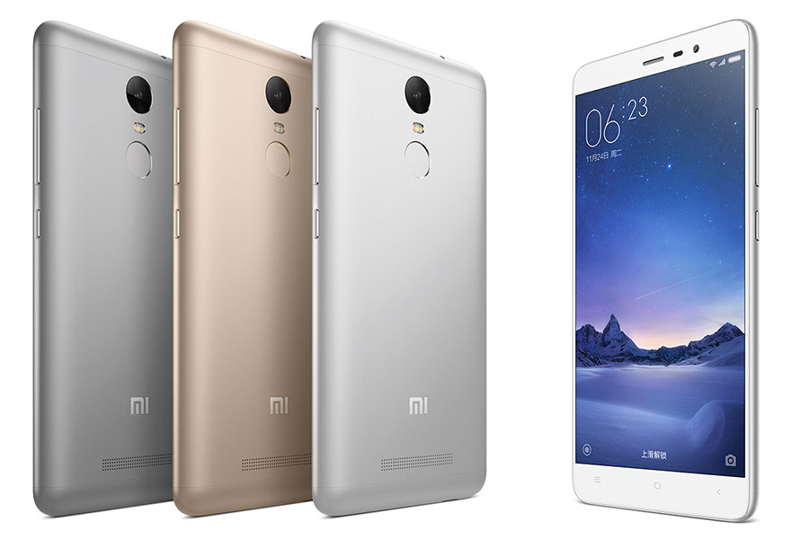 Цвета корпуса Xiaomi redmi note 3