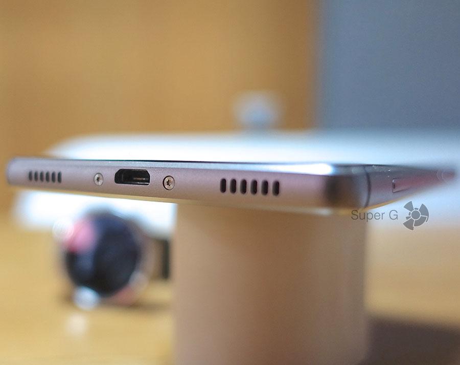 Порт Micro USB Huawei P8