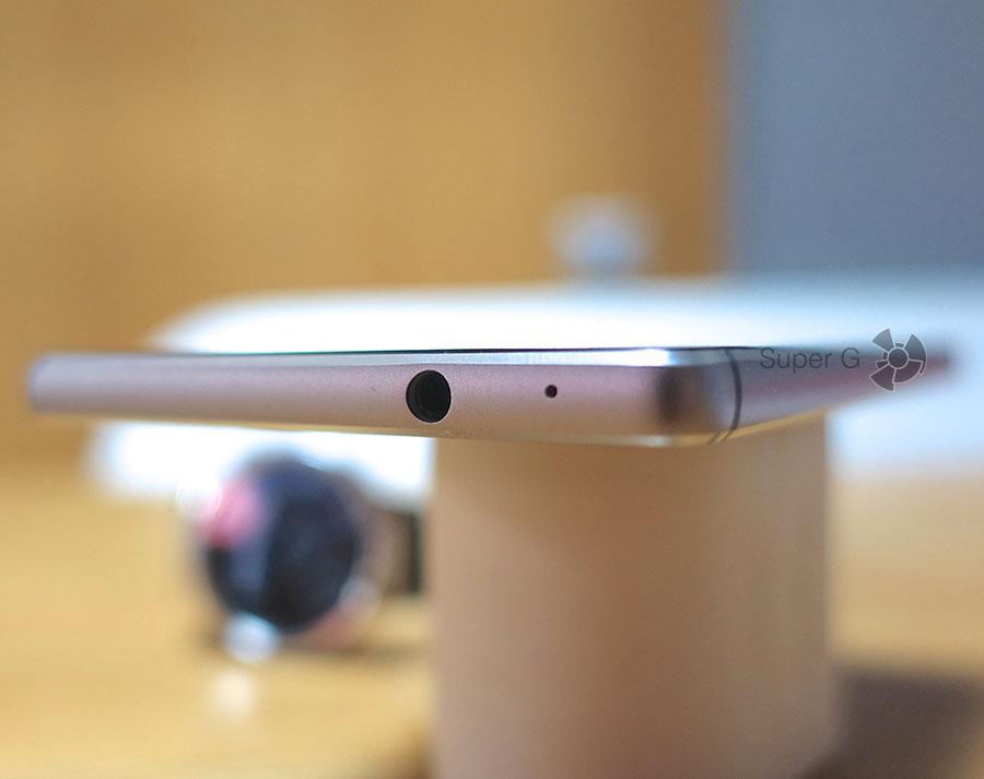 Разъем для подключения наушников для Huawei P8